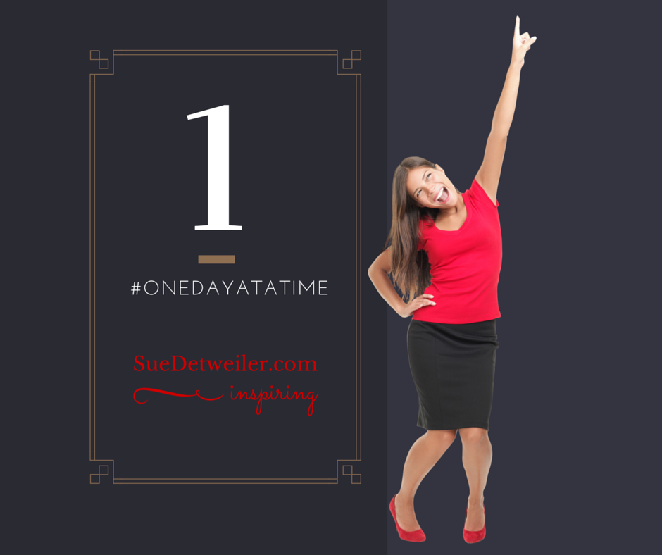One Day at a Time –  #HealingRain