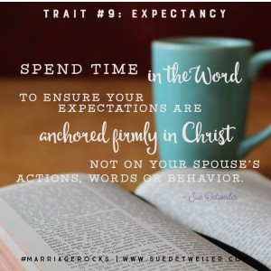 Trait #9 - 9 Traits of a Life Giving Marriage