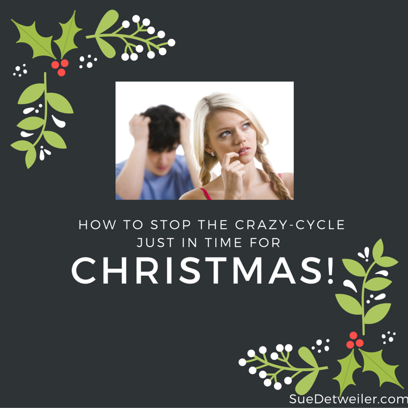 How to stop the crazy cycle