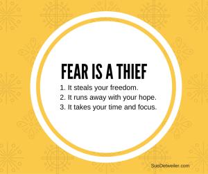 Fear is a Thief