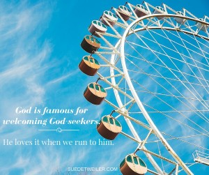 Are You Afraid to Run to God?