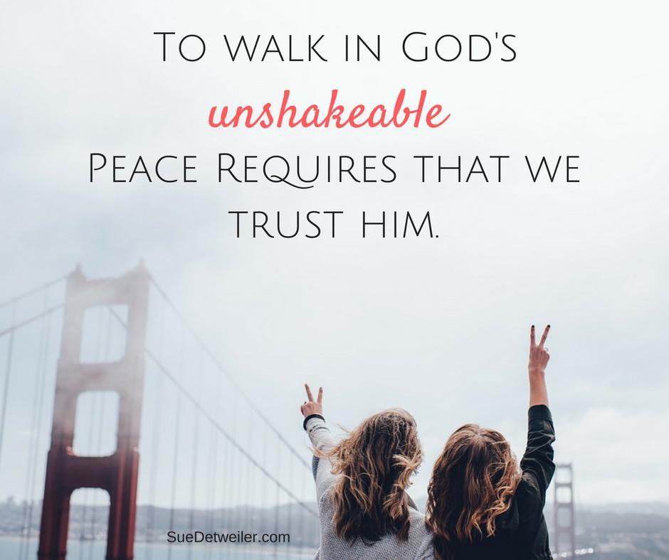 Unshakeable Peace