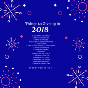 15 Things to Give Up in 2018
