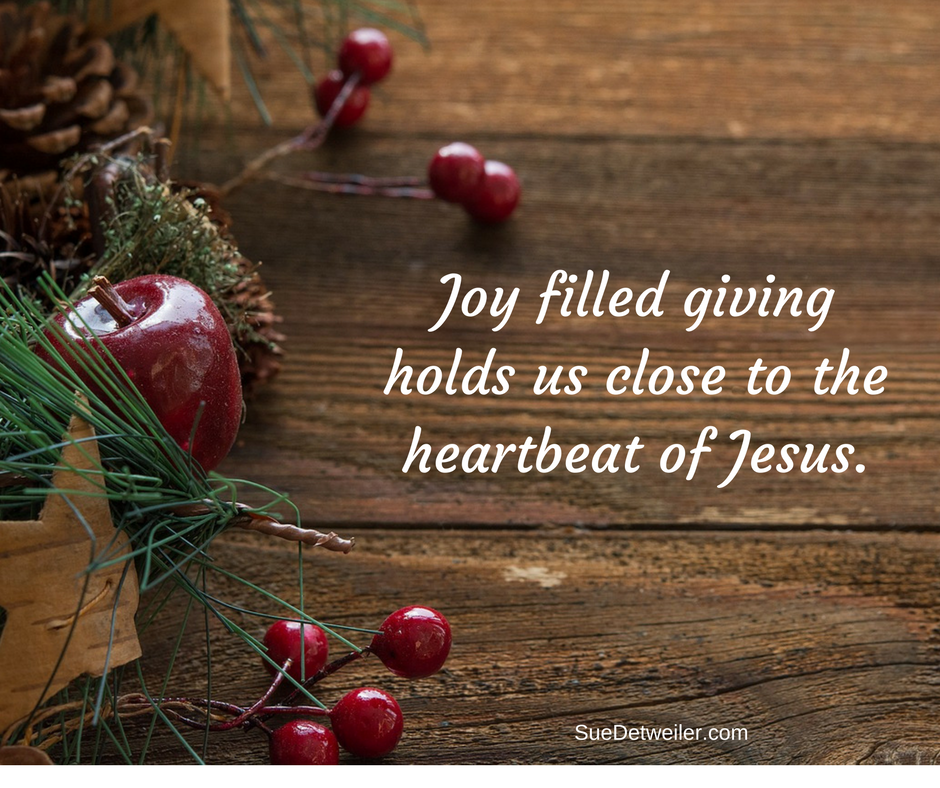 Joy Filled Giving