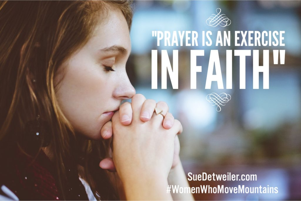Women Who move mountains in prayer