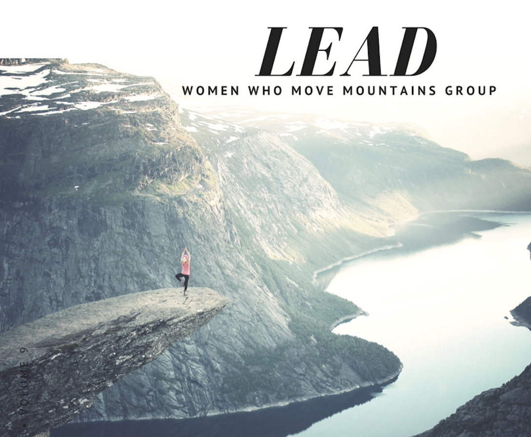 You are Invited to Lead Women Who Move Mountains Group