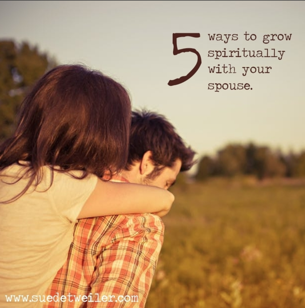 5 Ways to Grow Spiritually with Your Spouse